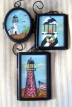 Lighthouse Ornaments Under Glass PDF DOWNLOAD