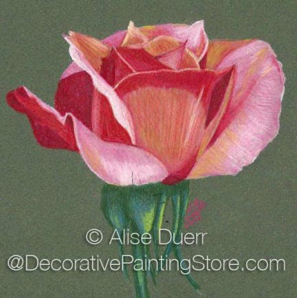 Cheris Rose Pattern by Alise Duerr - PDF DOWNLOAD