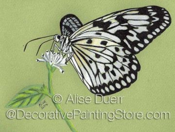 Black and White Pattern by Alise Duerr - PDF DOWNLOAD