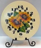 Sunflower Clock Pattern - Anne Hunter - PDF DOWNLOAD