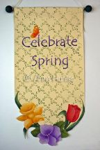 Spring Bouquet Banner Pattern - Anne Hunter - PDF DOWNLOAD