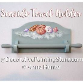Seaside Towel Holder Pattern - Anne Hunter - PDF DOWNLOAD