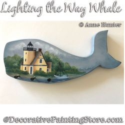 Lighting the Way Whale ePattern Download - Anne Hunter