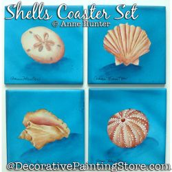 Shells Coaster Set ePattern Download - Anne Hunter