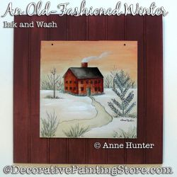 An Old-Fashioned Christmas Painting Pattern PDF Download - Anne Hunter