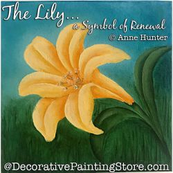 The Lily a Symbol of Renewal ePattern Download - Anne Hunter