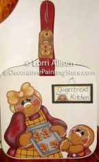 Gingerbread Kitchen Pattern - Lorri Allisen - PDF DOWNLOAD
