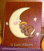 Sweet Dreams of Gingerbread Pattern - Lorri Allisen - PDF DOWNLOAD