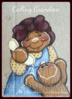 Calling Grandma Pattern - Lorri Allisen - PDF DOWNLOAD
