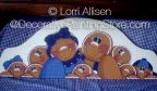 Gingerbread Family Pattern by Lorri Allisen - PDF DOWNLOAD