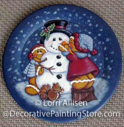 Gingers n Frosty Pattern - Lorri Allisen - PDF DOWNLOAD
