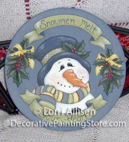 Snowmen Melt Your Heart Pattern - Lorri Allisen - PDF DOWNLOAD
