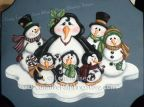 Frosty Friends Pattern - Lorri Allisen - PDF DOWNLOAD