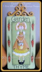 Garden Thyme Bunny Pattern by Lorri Allisen - PDF DOWNLOAD