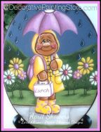 April Showers Gingerbread Pattern by Lorri Allisen - PDF DOWNLOAD