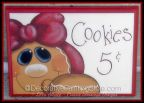 Gingerbread Cookies 5 Cents Pattern by Lorri Allisen - PDF DOWNLOAD