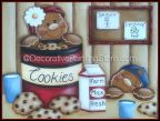 Snack Time Pattern by Lorri Allisen - PDF DOWNLOAD