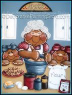 Grandmas Kitchen Gingerbread Pattern by Lorri Allisen - PDF DOWNLOAD
