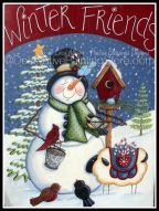 Winter Friends Pattern by Lorri Allisen - PDF DOWNLOAD