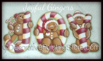 Joyful Gingers ePattern by Lorri Allisen - PDF DOWNLOAD