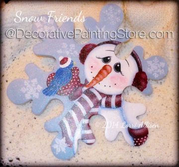 Snow Friends ePattern by Lorri Allisen - PDF DOWNLOAD