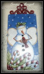 Snowy Angel ePattern by Lorri Allisen - PDF DOWNLOAD
