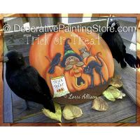 Trick or Treat ePattern by Lorri Allisen - PDF DOWNLOAD
