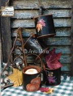 Autumn Party Mini Paint Buckets e-Pattern