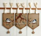 Chickadee Window Toppers e-Pattern DOWNLOAD