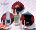 HO, HO, HO Trio Ornaments e-Pattern DOWNLOAD