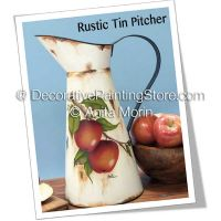 Rustic Tin Pitcher ePattern - Anita Morin - PDF DOWNLOAD