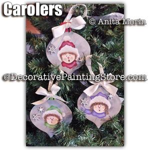 Christmas Carolers ePattern - Anita Morin - PDF DOWNLOAD