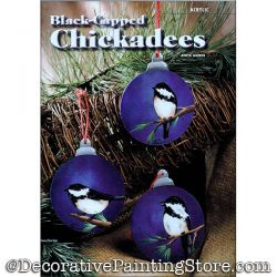 Black Capped Chickadees Painting Pattern PDF DOWNLOAD - Anita Morin