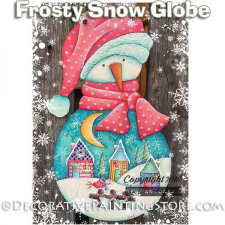 Frosty Snow Globe e-Pattern -Deb Antonick - PDF DOWNLOAD