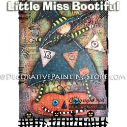 Little Miss Boo-tiful e-Pattern -Deb Antonick - PDF DOWNLOAD