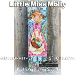 Little Miss Molly e-Pattern -Deb Antonick - PDF DOWNLOAD