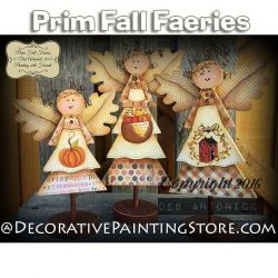 Prim Fall Faeries e-Pattern -Deb Antonick - PDF DOWNLOAD