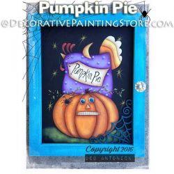 Pumpkin Pie e-Pattern -Deb Antonick - PDF DOWNLOAD
