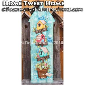 Home Tweet Home e-Pattern -Deb Antonick - PDF DOWNLOAD