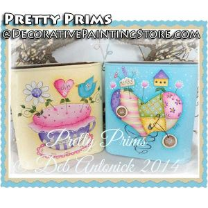 Pretty Prims e-Pattern -Deb Antonick - PDF DOWNLOAD