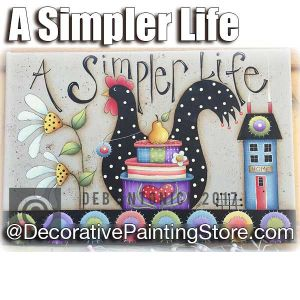 A Simpler Life e-Pattern -Deb Antonick - PDF DOWNLOAD