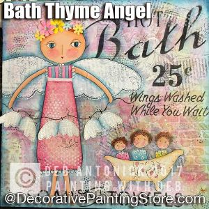 Bath Thyme Angels e-Pattern -Deb Antonick - PDF DOWNLOAD