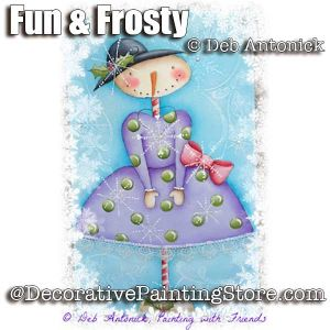 Fun and Frosty e-Pattern -Deb Antonick - PDF DOWNLOAD