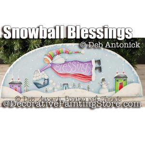 Snowball Blessings e-Pattern -Deb Antonick - PDF DOWNLOAD