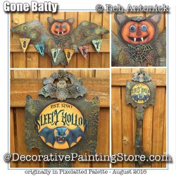 Gone Batty e-Pattern -Deb Antonick - PDF DOWNLOAD