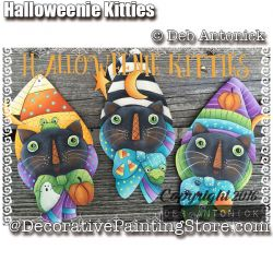 Halloweenie Kitties e-Pattern -Deb Antonick - PDF DOWNLOAD