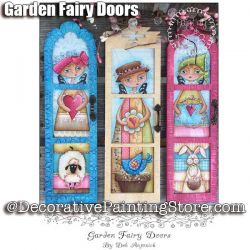 Garden Fairy Doors e-Pattern -Deb Antonick - PDF DOWNLOAD