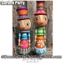 Garden Party Ladies e-Pattern -Deb Antonick - PDF DOWNLOAD
