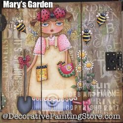 Marys Garden e-Pattern -Deb Antonick - PDF DOWNLOAD