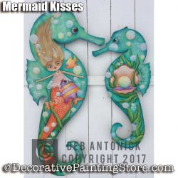 Mermaid Kisses e-Pattern -Deb Antonick - PDF DOWNLOAD